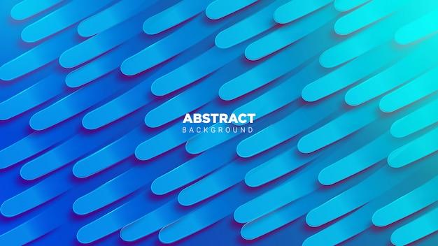 Fundo 3d abstrack em azul