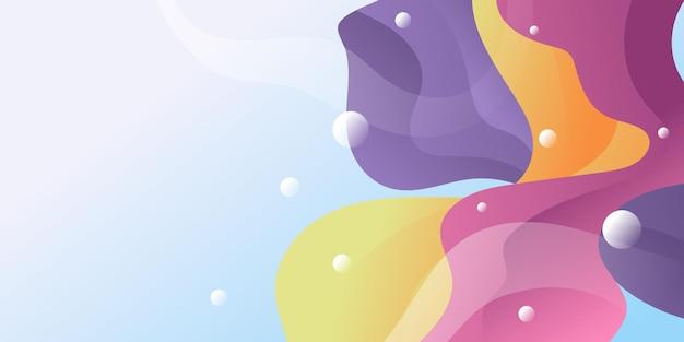 Fundo 3d abstrato com design moderno e colorido. terno para modelo de apresentação de negócios corporativos. abstrato com design gráfico de tecnologia e conceito de conexão de rede