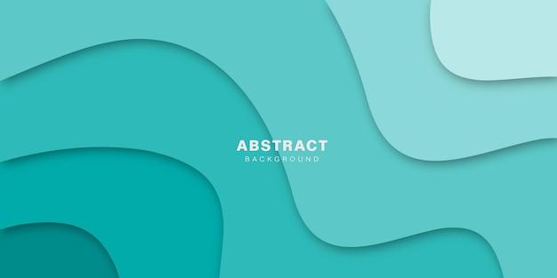 Fundo 3d abstrato e elegante