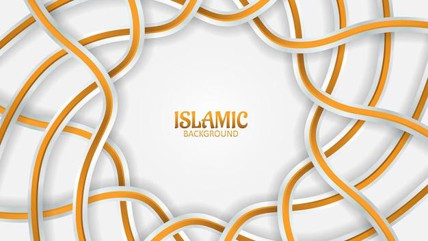 Fundo 3d mozaic islâmico premium