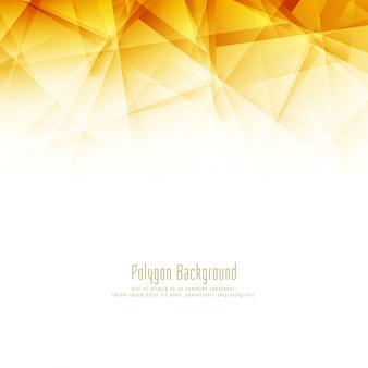 Fundo à moda do polígono brilhante abstrato