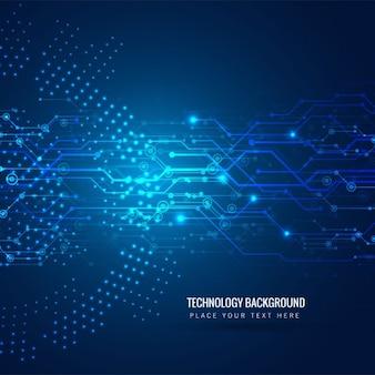 Fundo a tecnologia moderna