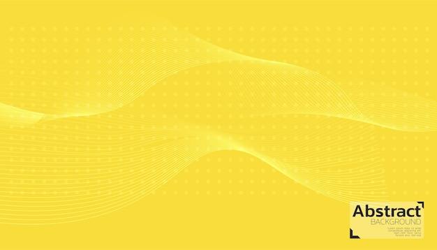 Fundo abstrato amarelo com textura
