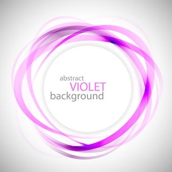 Fundo abstrato anéis violetas