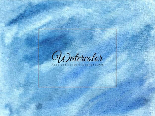 Fundo abstrato aquarela azul celeste