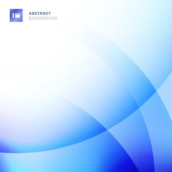Fundo abstrato azul dos círculos dos inclinações