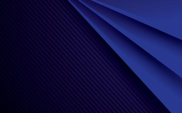 Fundo abstrato azul e preto padrão