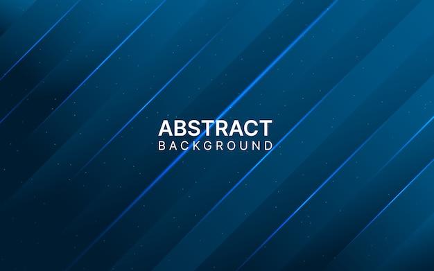 Fundo abstrato azul escuro brilhante.