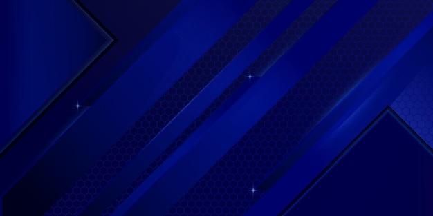 Fundo abstrato azul escuro moderno