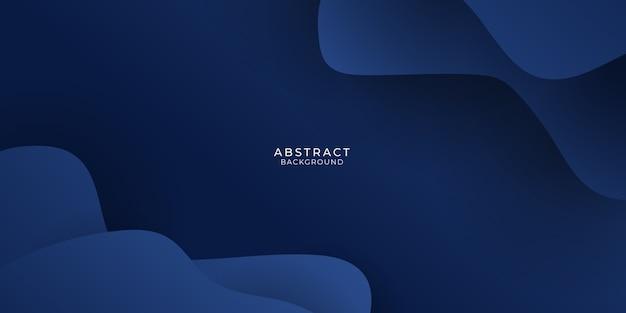 Fundo abstrato azul escuro.