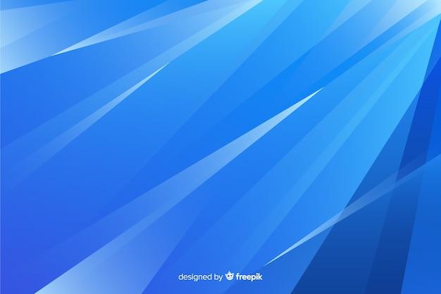 Fundo abstrato azul formas