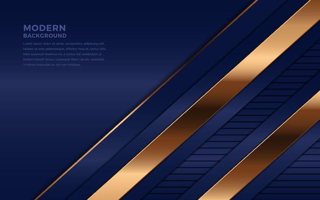 Fundo abstrato azul marinho de luxo