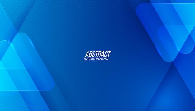 Fundo abstrato azul moderno.