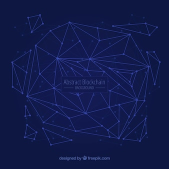 Fundo abstrato blockchain