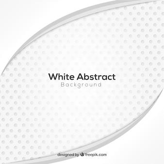 Fundo abstrato branco com estilo elegante