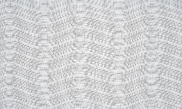 Fundo abstrato branco com textura listrada ondulada moderna