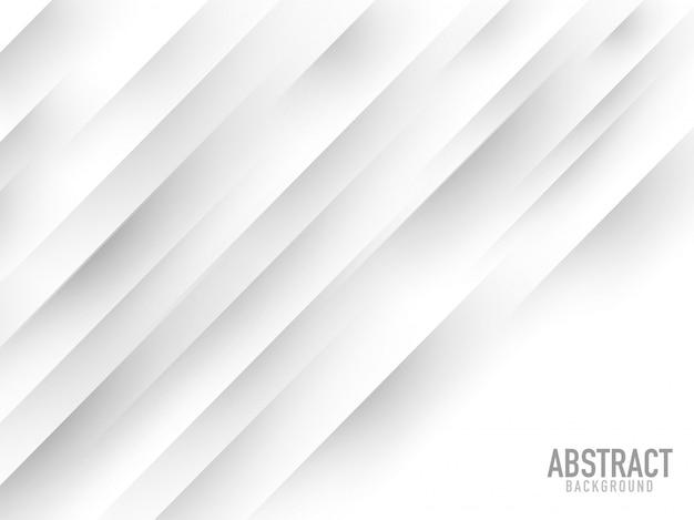 Fundo abstrato branco da listra diagonal.