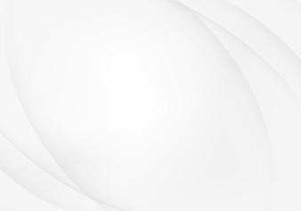 Fundo abstrato branco e prateado