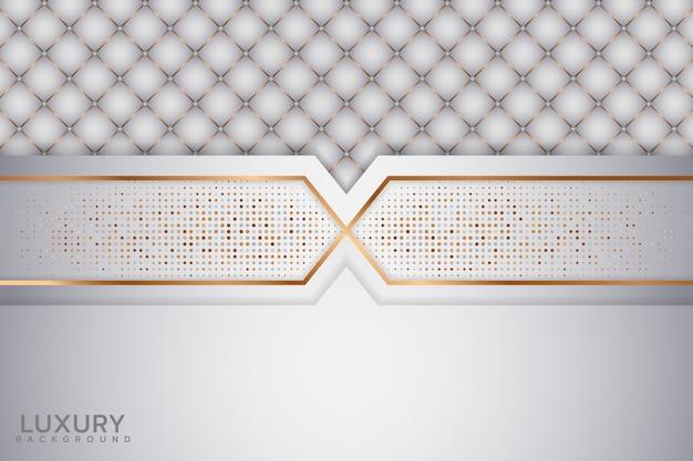 Fundo abstrato branco elegante