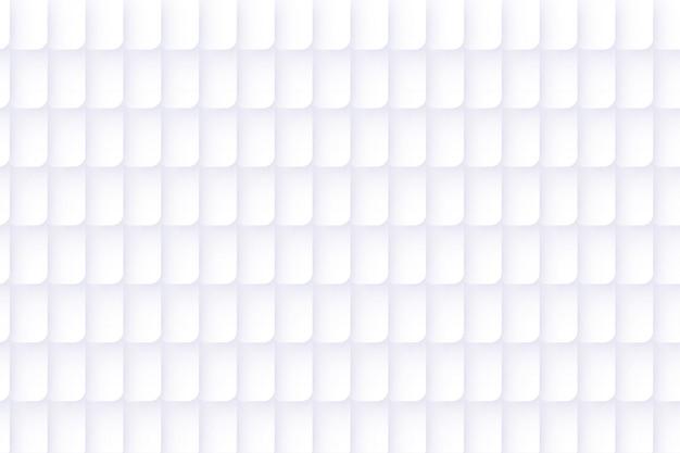 Fundo abstrato branco em branco com estilo de papel 3d
