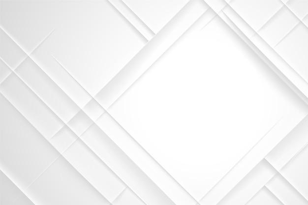 Fundo abstrato branco em forma de diamante