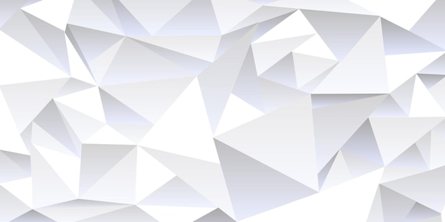 Fundo abstrato cinza amassado, estilo low poly. modelo de vetor moderno de textura para design, papel de parede geométrico