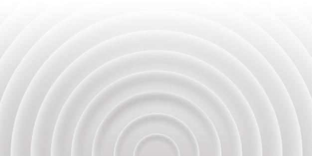 Fundo abstrato cinza de círculos com sombras, estilo material 3d. textura de vetor geométrico para imprimir modelo, folheto, web, capa