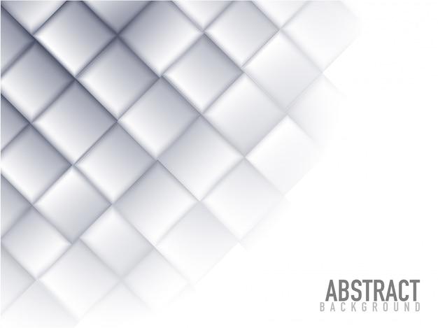 Fundo abstrato cinzento dos elementos dos blocos quadrados.