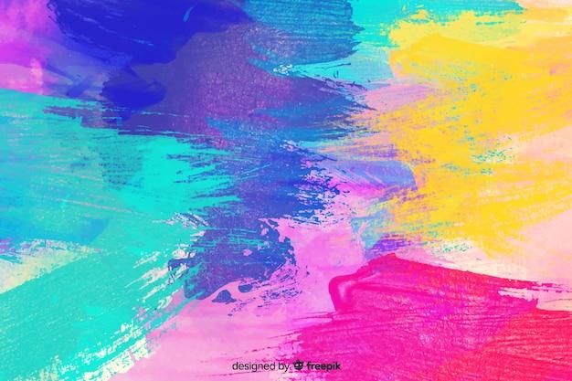 Fundo abstrato colorido aquarela mancha