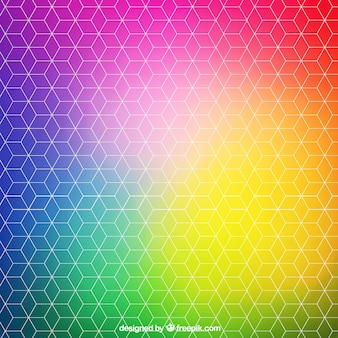 Fundo abstrato colorido brilhante