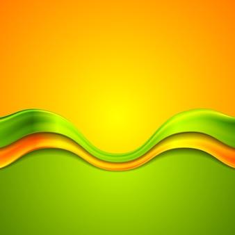 Fundo abstrato colorido com ondas