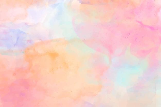 Fundo abstrato colorido em aquarela