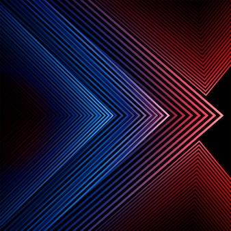 Fundo abstrato colorido geométrico de linhas