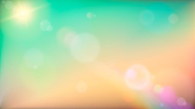 Fundo abstrato colorido macio. ilustração