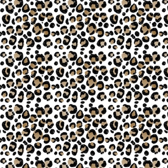 Fundo abstrato com aquarela animal print pattern