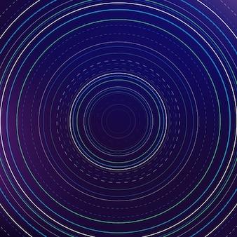 Fundo abstrato com círculos
