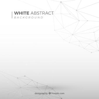 Fundo abstrato com cor branca