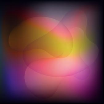 Fundo abstrato com cor fluida