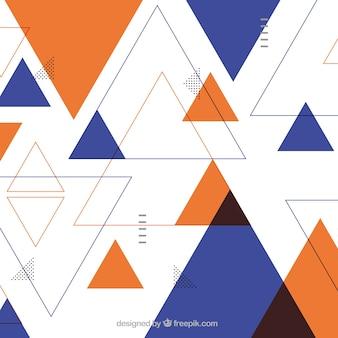 Fundo abstrato com desenho geométrico