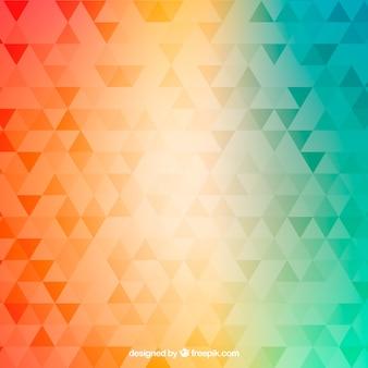 Fundo abstrato com design de gradiente
