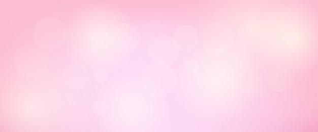 Fundo abstrato com efeito de luz bokeh de desfoque. cenário de luz moderno borrão circular colorido. ilustração vetorial