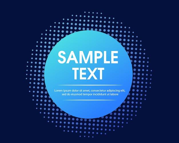 Fundo abstrato com espaço de texto