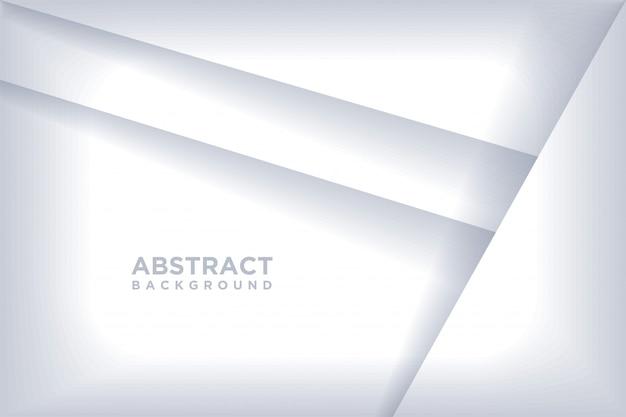 Fundo abstrato com estilo da arte do papel 3d.