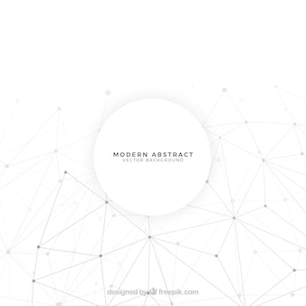 Fundo abstrato com formas brancas