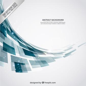 Fundo abstrato com formas geométricas