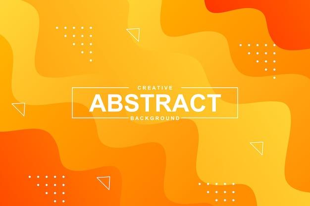 Fundo abstrato com formas líquidas dinâmicas com cabeçalho