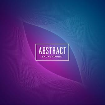 Fundo abstrato com formas onduladas roxas e azuis
