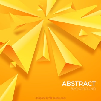 Fundo abstrato com formas triangulares