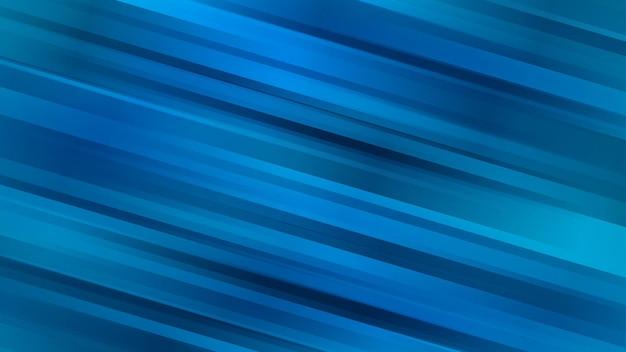 Fundo abstrato com linhas diagonais em cores azuis