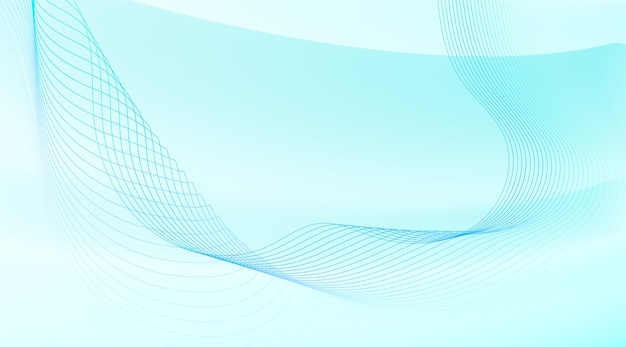 Fundo abstrato com linhas onduladas